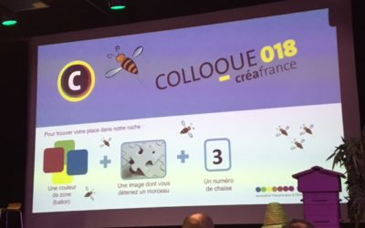 Colloque Crea France… The place to bee… pour faire le buzz :)